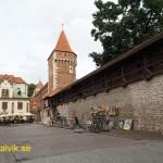 Del av stadsmuren. Krakow (U)