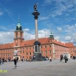 Kungliga slottet. Warschawa. Polen (U)