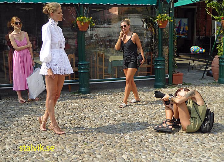Modefotografering. Portofino