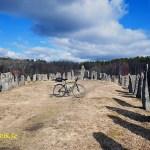 Cykla i Bohuslän. Skeppssättningen. Blomsholm