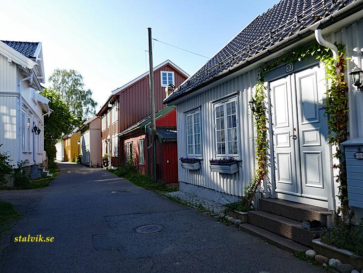 Cykla i Norge. Vestfold. Gamla Tönsberg