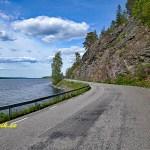 Cykla i Västergötland. Sjön Anten