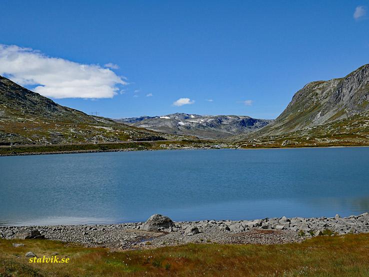 Cykla i Norge. Rallarvegen från Haugastöl till Finse