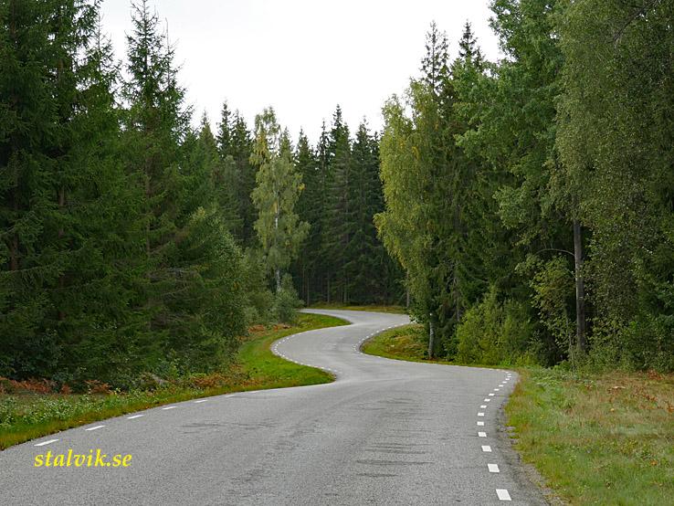 Jät - Fridafors. Fin landsväg att cykla på