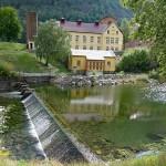 Pumphuset och laboratoriet, Rjukan. Norge