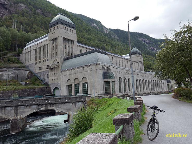 Såheim kraftverk. Rjukan. Norge (U)