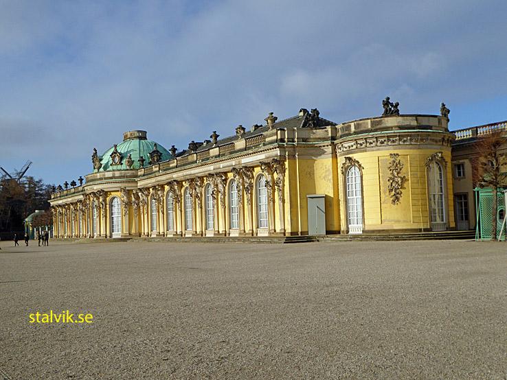 Schloss Sanssouci. Potsdam