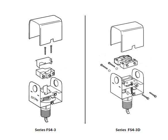 McDonnell & Miller Series FS250 Flow Switches