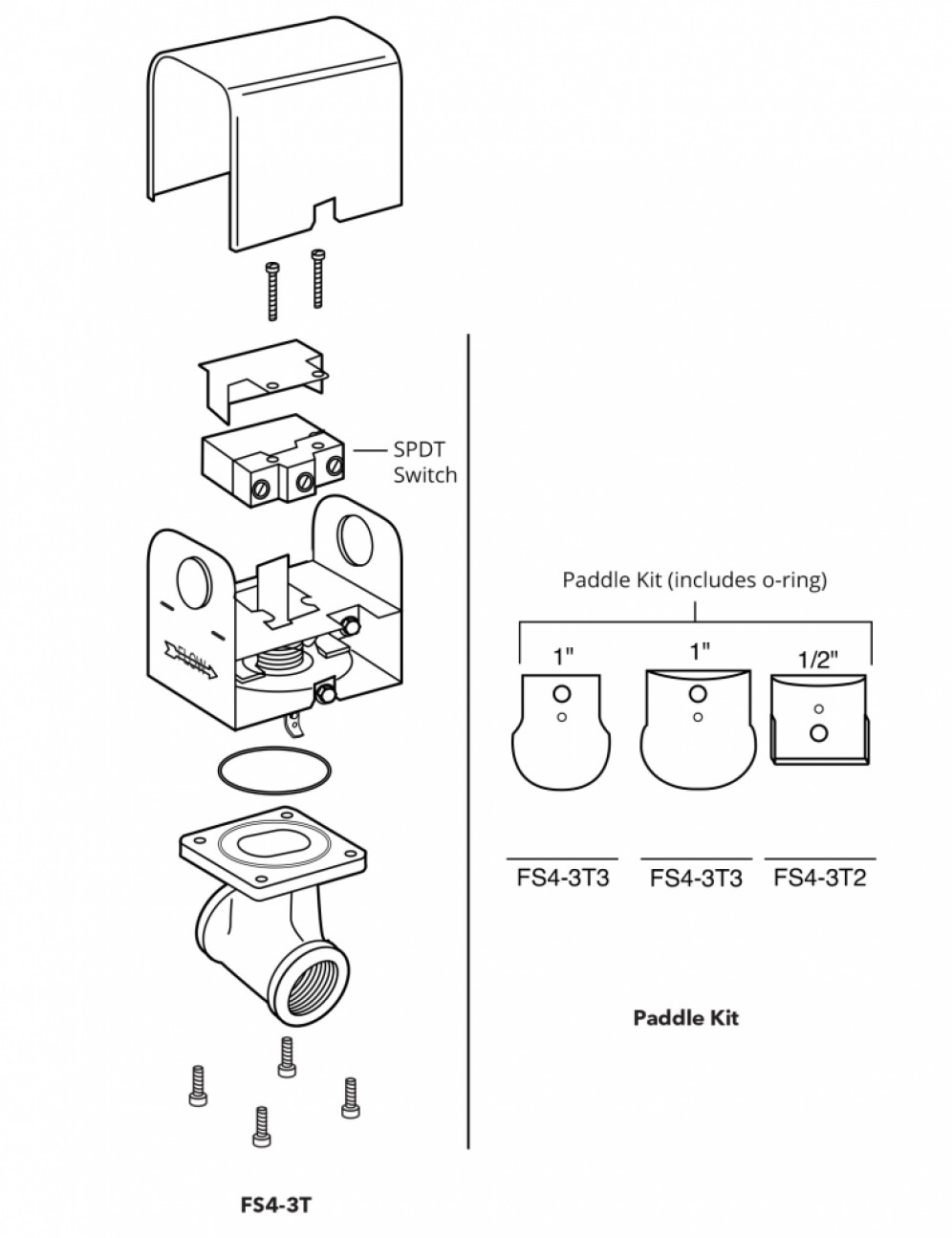 McDonnell and Miller Series FS4 Flow Switches for Heating