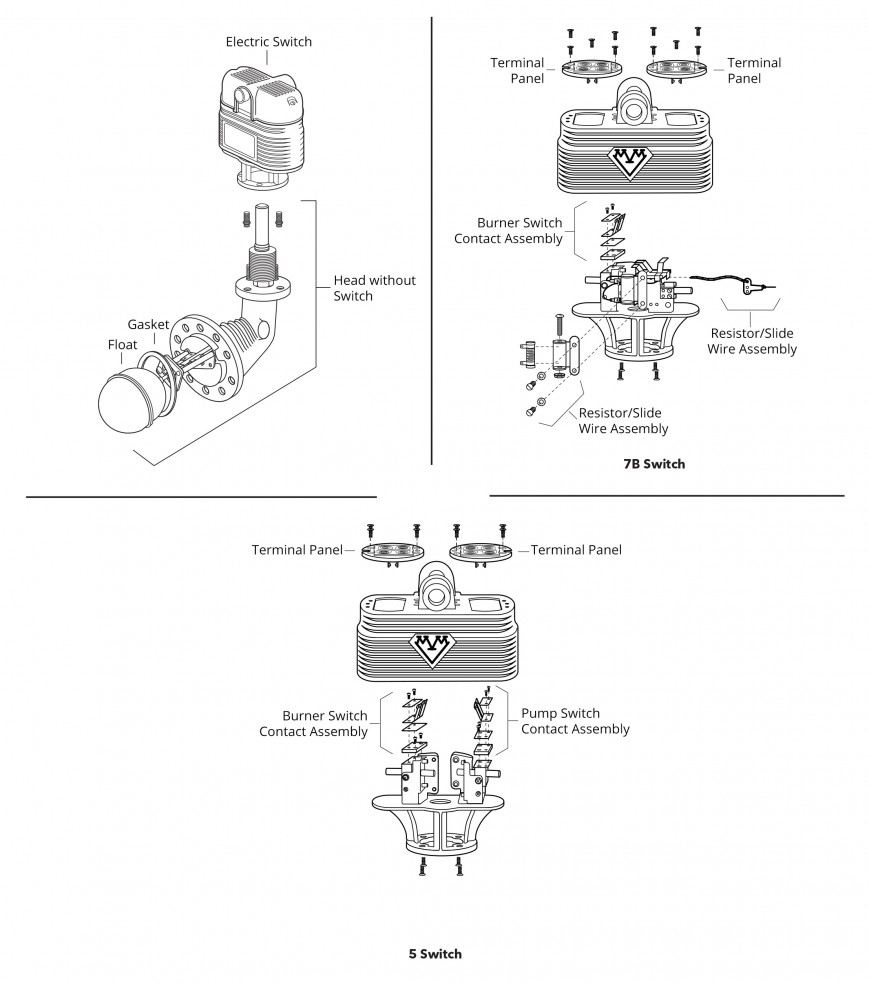 hight resolution of mcdonnell miller series 94 194 low water cut offs pump controls mcdonnell miller 150 wiring diagram