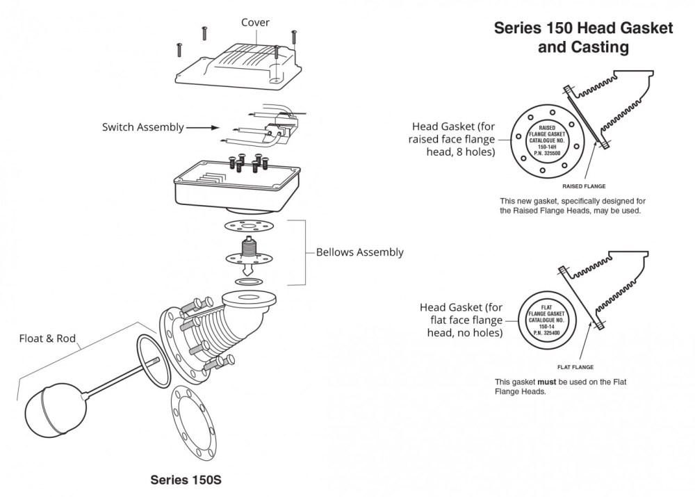 medium resolution of mcdonnell miller model 150s lwco exploded view