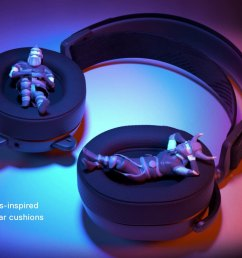 the arctis pro headset features premium speaker drivers with high density neodymium magnets that reproduce hi res audio out to 40 000 hz nearly double what  [ 1920 x 1080 Pixel ]