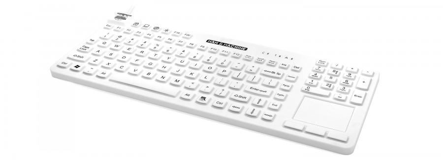 Man & Machine RCTLP/MAG/W5 USB QWERTY English White