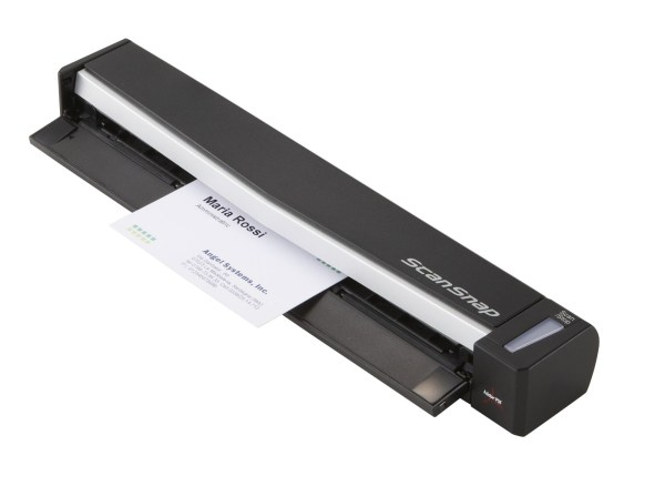Fujitsu Scasnap S1100 Deluxe 600 X Dpi Single Pass Sheet-fed Scanner Black White A4 0 In