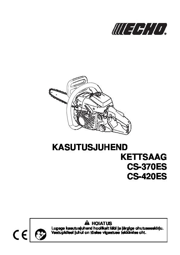 Echo Cs-420es Manual