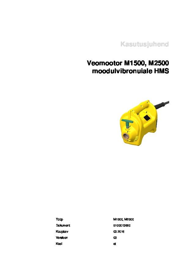 Concrete vibrator HMS 25, Wacker Neuson, wacker-neuson