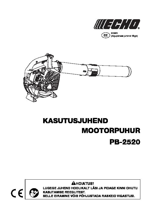 Lehepuhur PB-2520, ECHO, echo