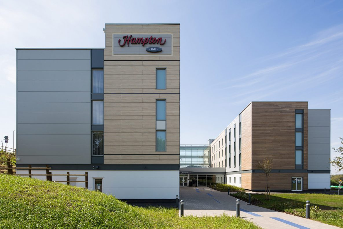 hampton by hilton 2001 ford f150 power window wiring diagram bristol airport shipping container hotel very good