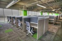 Modern Call Center Workstations