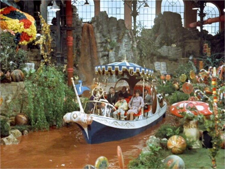 Willy Wonka Chocolate Garden London  Stylus