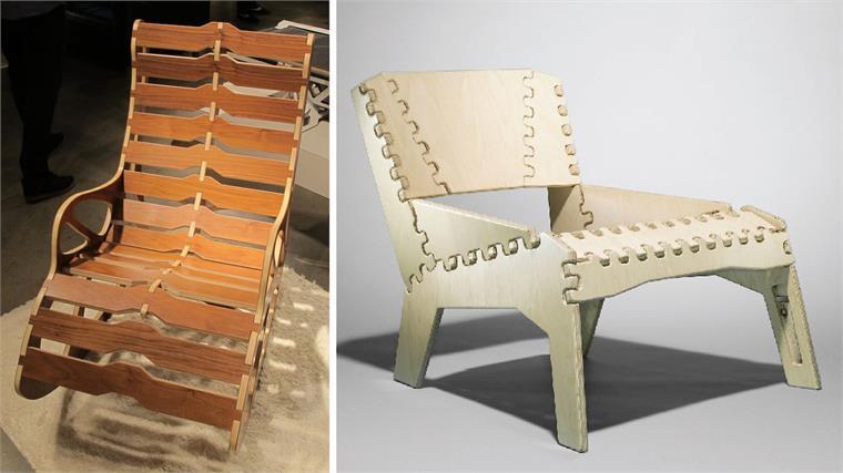 FlatPack Designs Duori and Vera Chairs  Stylus