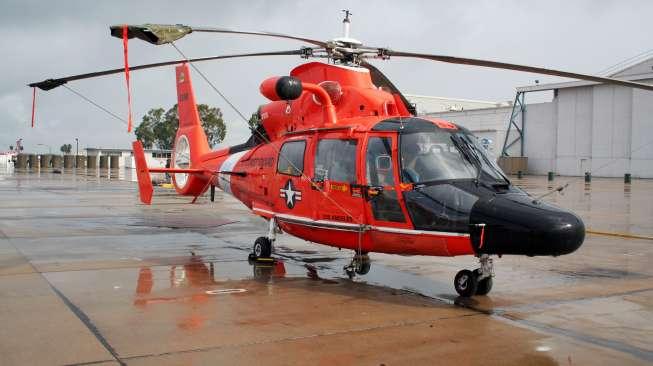 Helikopter Dauphin. (Shutterstock)