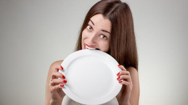 Illustration of hunger, which apparently makes people easily stressed [shutterstock]