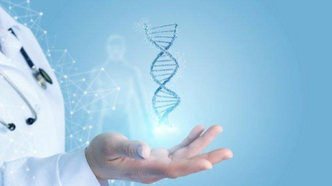 Ilustrasi kromosom dan DNA. (Shutterstock)