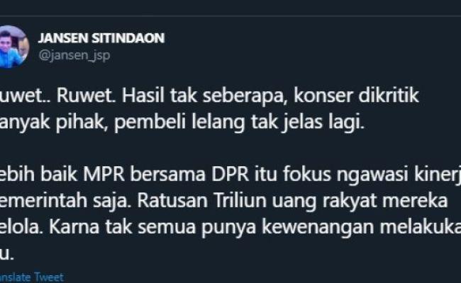 Pemenang Lelang Motor Jokowi Diduga Penipu Jansen Pd