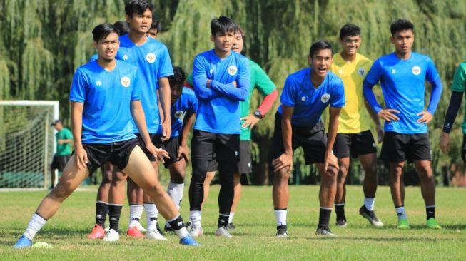 Para pemain Timnas Indonesia U-19. [Laman resmi PSSI]