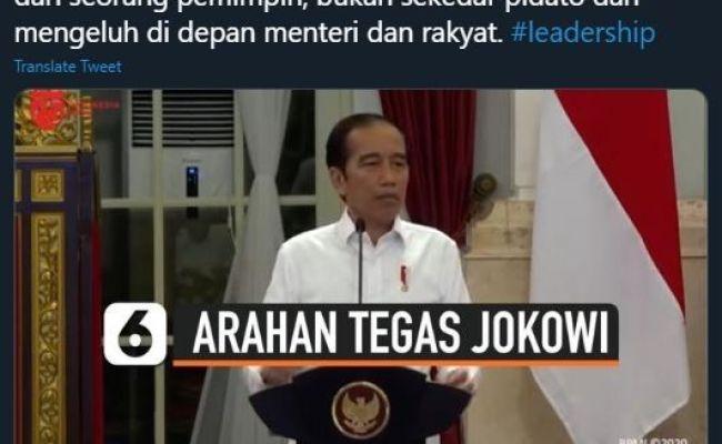 Jokowi Marah Ancam Reshuffle Mardani Jangan Mengeluh Di