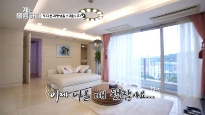 Rumah mewah pacar Lee Seung Gi, Lee Da In. (YouTube/KBS WORLD TV)