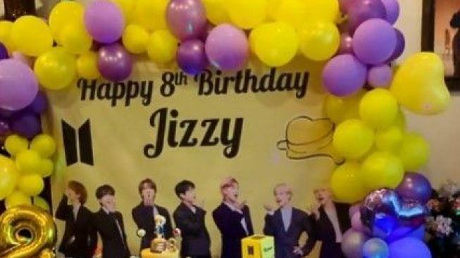 Ulang tahun Jizzy (Instagram)