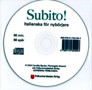Subito! Italienska för nybörjare