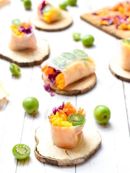 These mini Nergi kiwis that we manufacture recipes