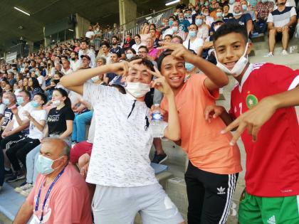 a breath of youth within the stands of the Moueix stadium