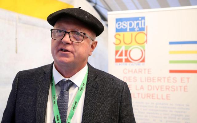 Jean-Luc Dufau, vice-président de la fédération de chasse des Landes, a pris la parole au début du rassemblement. «Petit à petit, ce sont nos valeurs rurales qui sont attaquées».