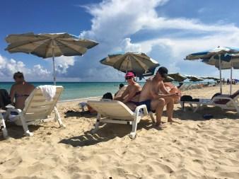 Mys på stranden