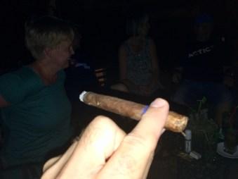 Röker ju inte men....