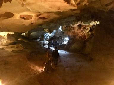 Grottbesök