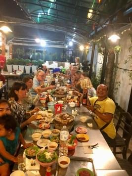 Välkomstmiddag i Siem Reap