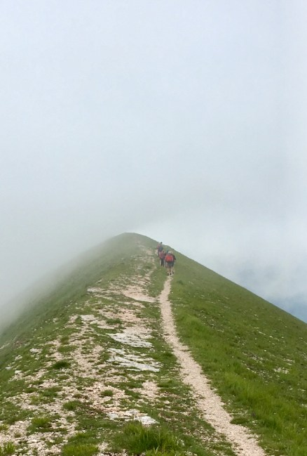 Kammvandring i moln