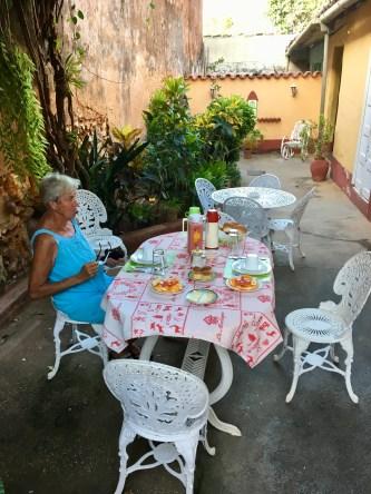 Frukost i Trinidad