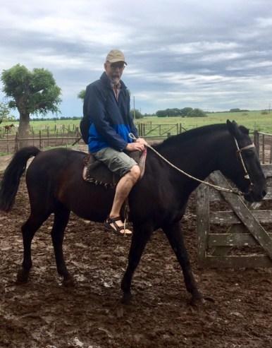 Bengt på häst