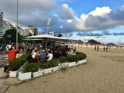 kiosk på Copacabana