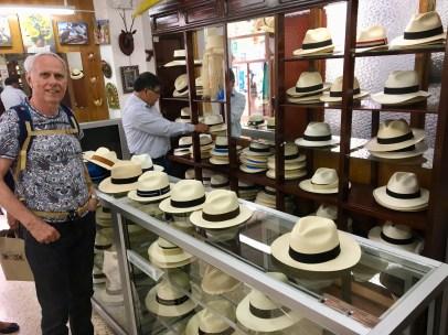 Panamahattar gjörs i Quito
