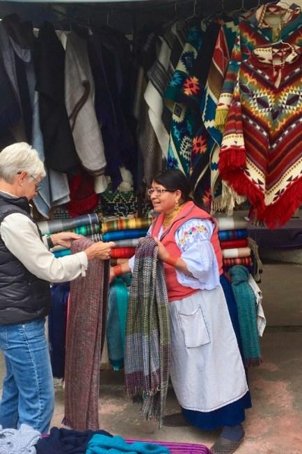 Shopping i Otavalo