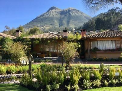 Vår fina lodge i Otavalo