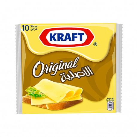 Kraft Original 10 Slices Cheese 180g from SuperMart.ae