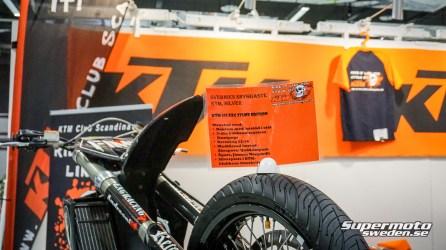 KTM 525 EXC motardkittad stunthoj